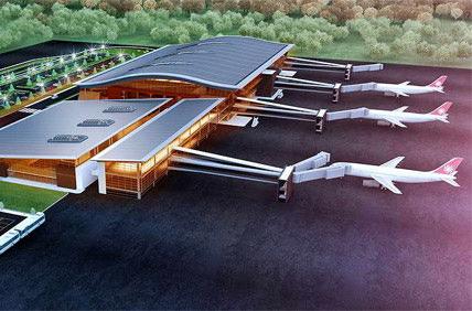 В аэропорту Тбилиси появился новый терминал