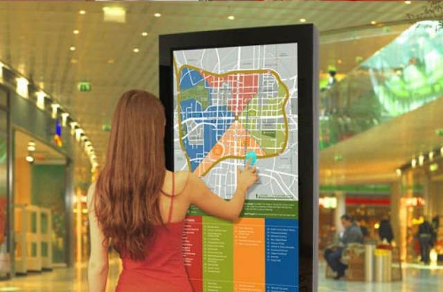 В Киеве установят туристические стенды