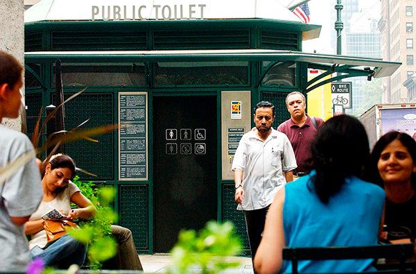 В Нью-Йорке придумали аналог Airbnb для аренды общественных туалетов