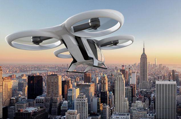 Airbus представит летательное такси в 2018 году