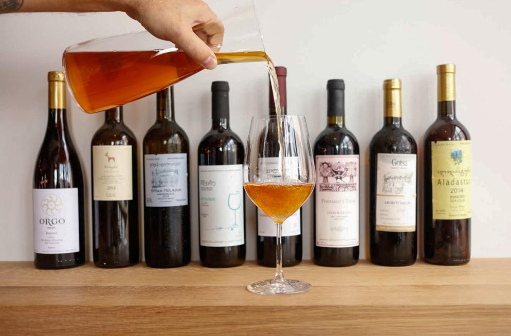 Грузинское вино, белое грузинское вино