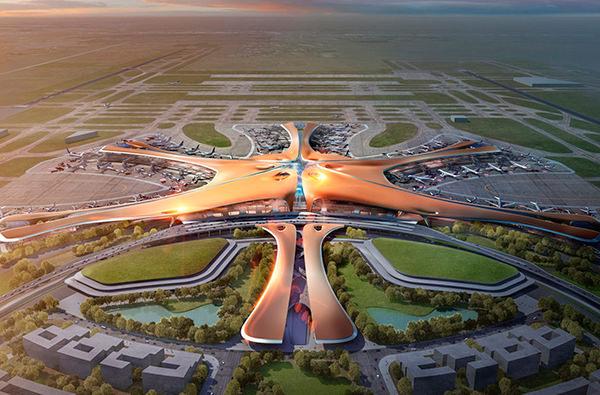 Крупнейший аэропорт мира построят в Китае