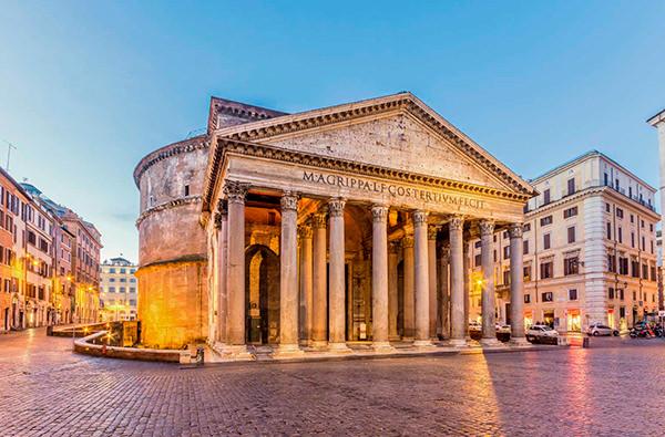 Посещение римского Пантеона будет платным
