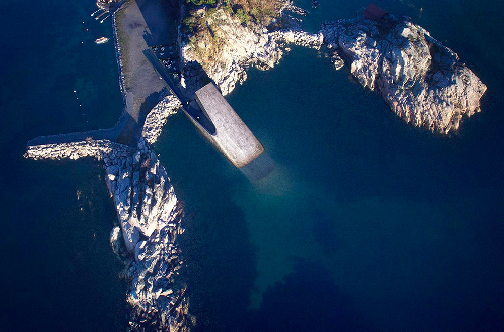 В Норвегии построят первый в Европе подводный ресторан