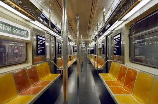 В Нью-Йорке представили обновленное метро