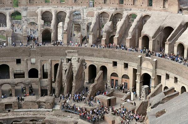 В римском Колизее для публики откроются новые этажи