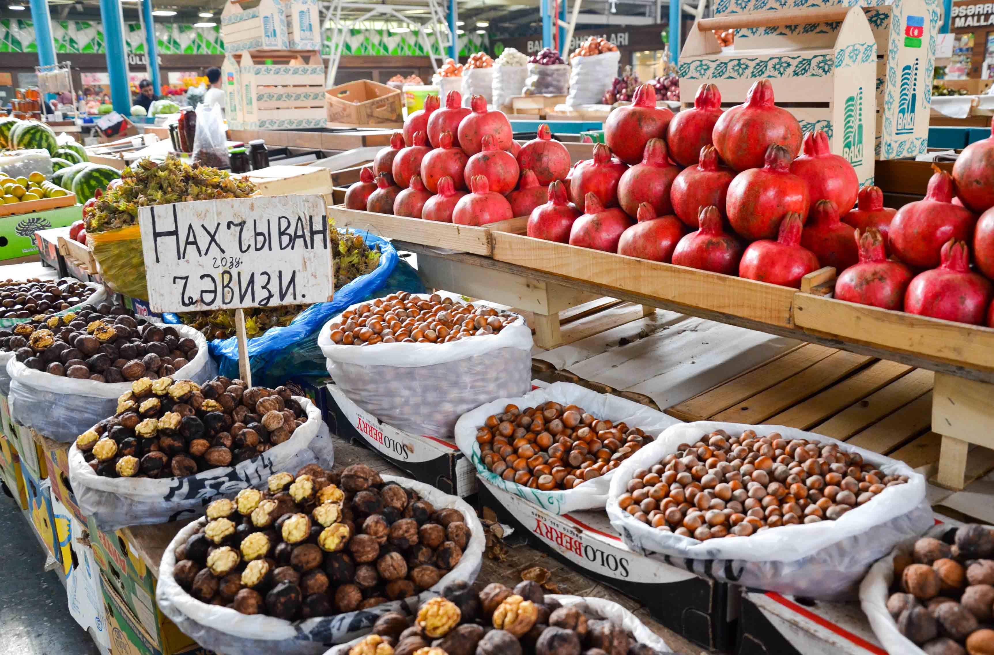 Яшыл базар в Баку или что привезти из Азербайджана
