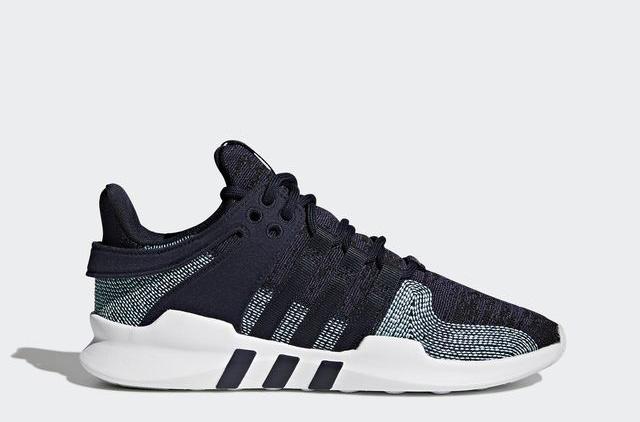 Adidas создали кроссовки из океанического мусора