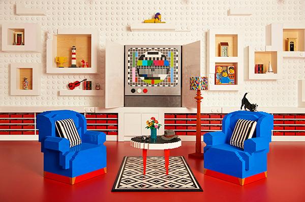 Airbnb разыгрывает ночь в апартаментах из LEGO