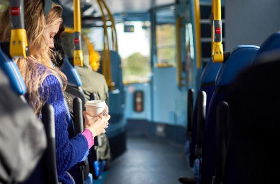 Автобусы Лондона переходят на кофейное топливо