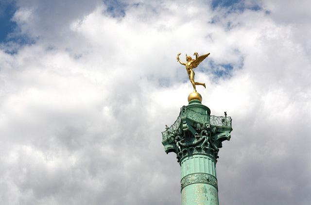 Парижская площадь Бастилии станет пешеходной
