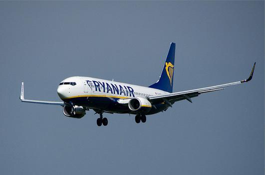 Ryanair распродает билеты от 3€