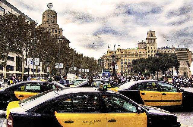 В Барселоне будут штрафовать авто без экологического знака