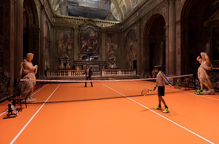 В миланской церкви разрешили играть в теннис