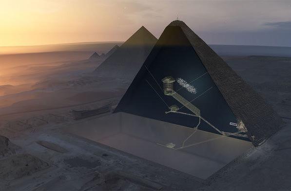 Внутри пирамиды Хеопса обнаружили потайную комнату