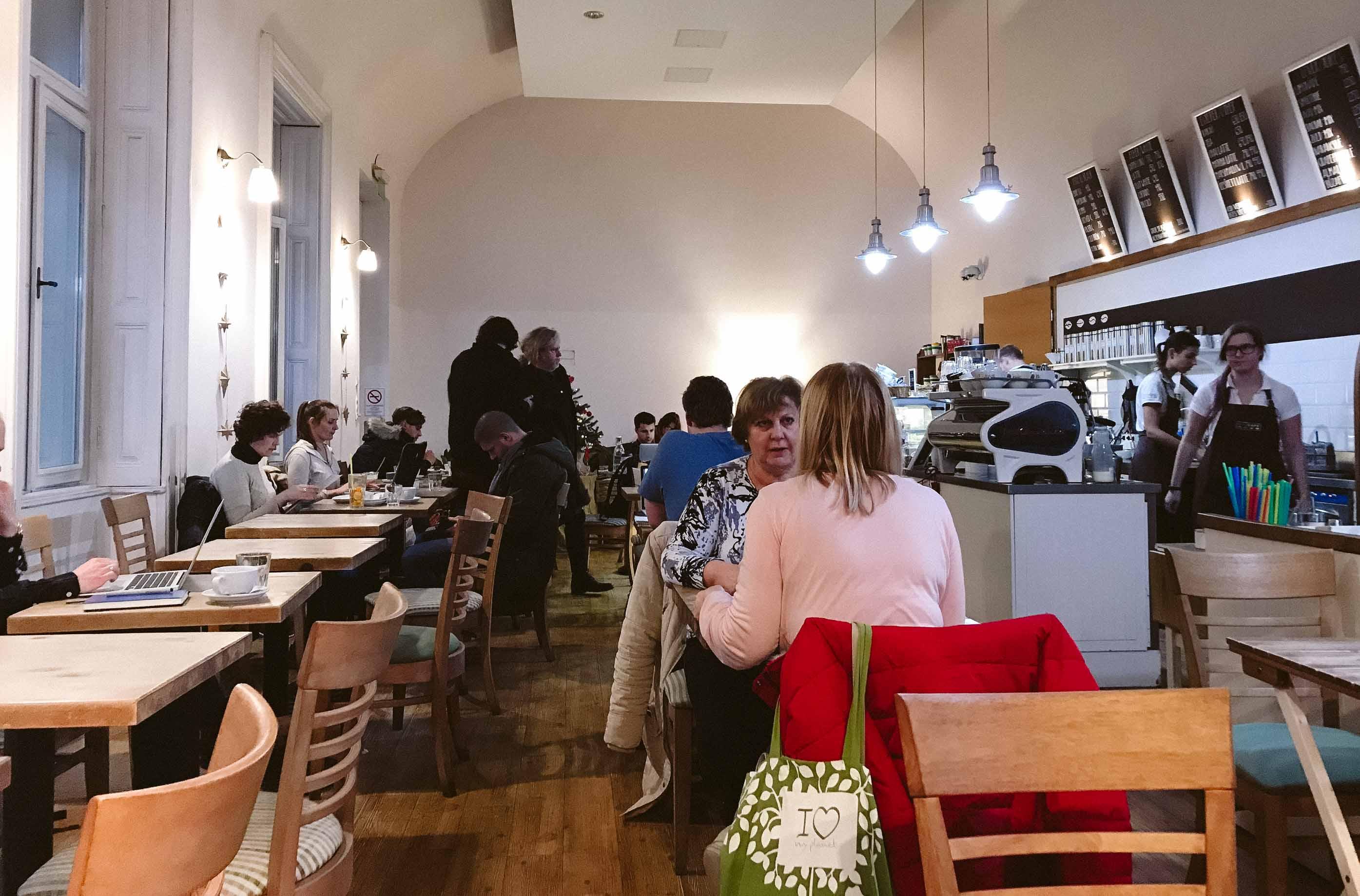 5 крутых кофешопов для фрилансеров в Будапеште - Ecocafe