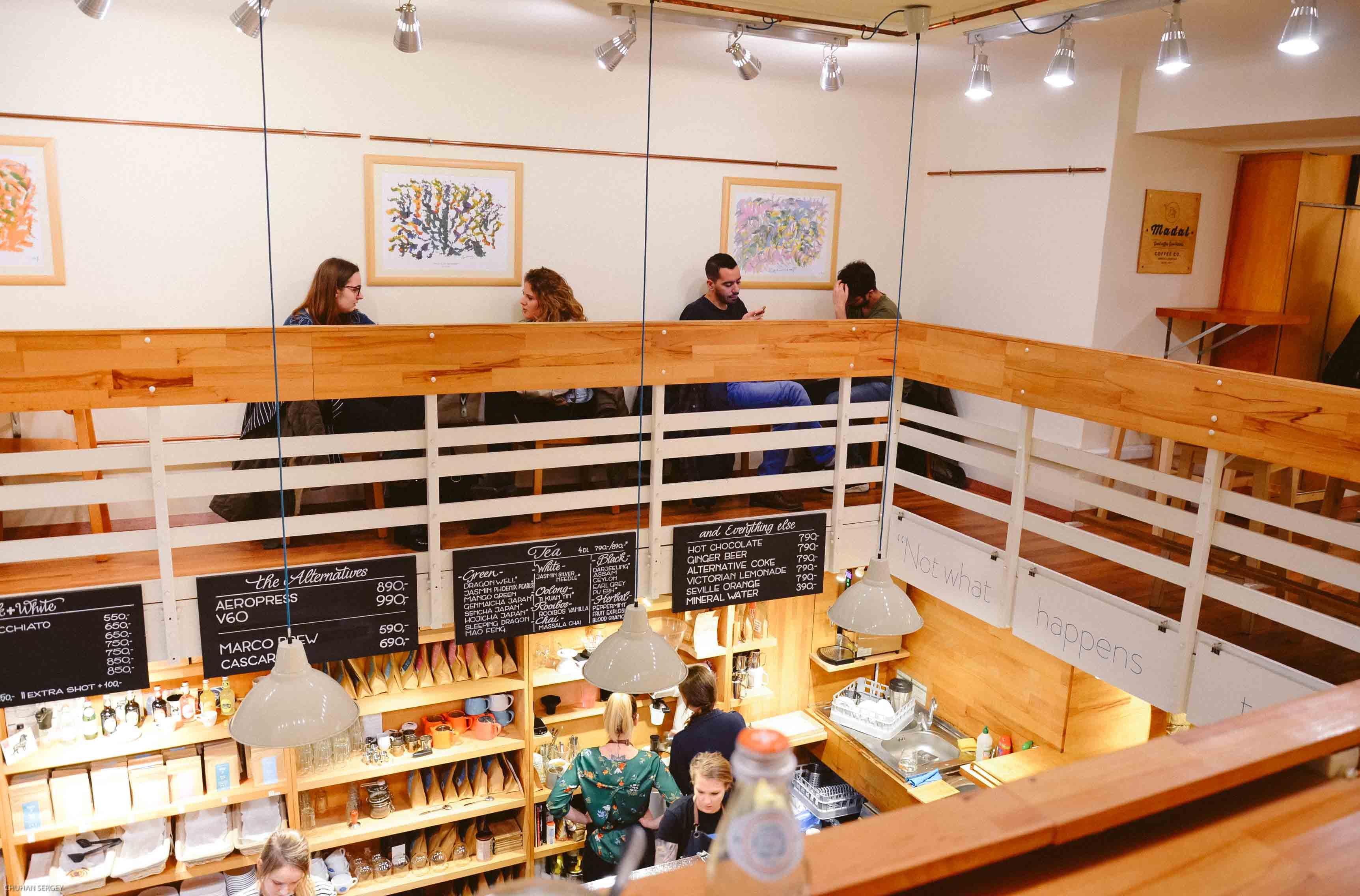 5 крутых кофешопов для фрилансеров в Будапеште - Madal