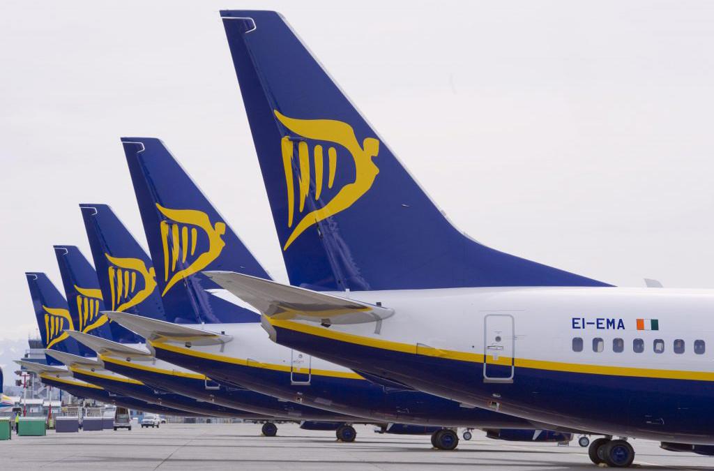 Билеты на рейсы Ryanair больше нельзя приобрести через сервисы Amadeus