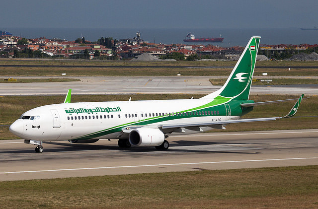 Iraqi Airways планирует рейс Киев-Багдад