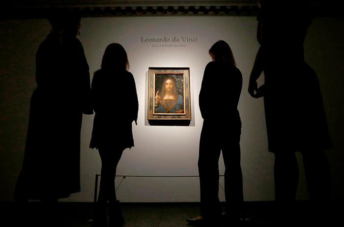 Картина Леонардо да Винчи появится в Лувре ОАЭ
