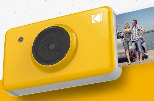 Kodak представила мини-камеру с функцией мгновенной печати