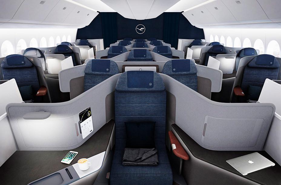 Lufthansa представила салон будущего