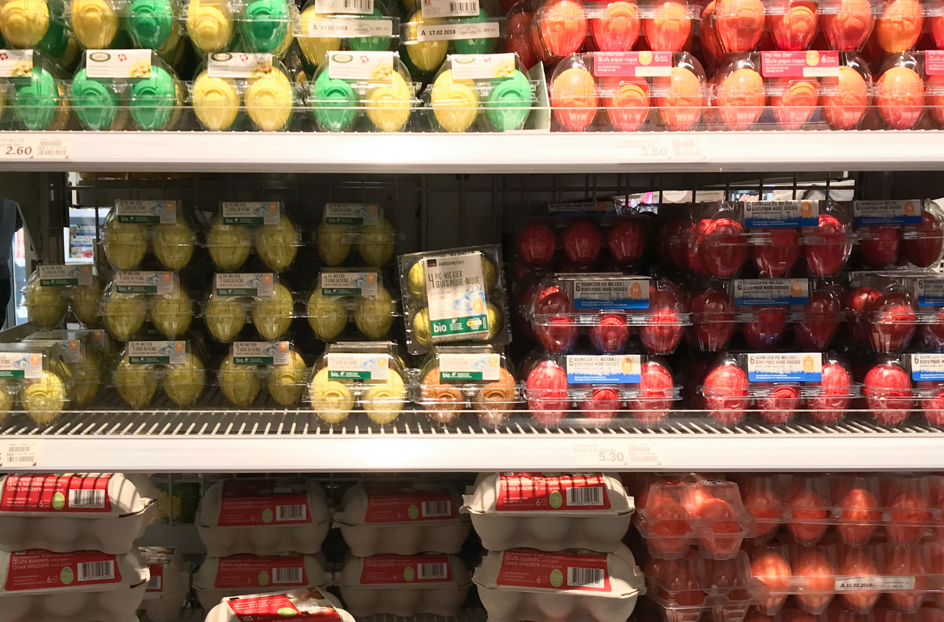 Что привезти из Швейцарии: супермаркеты и рынок IM VIADUKT