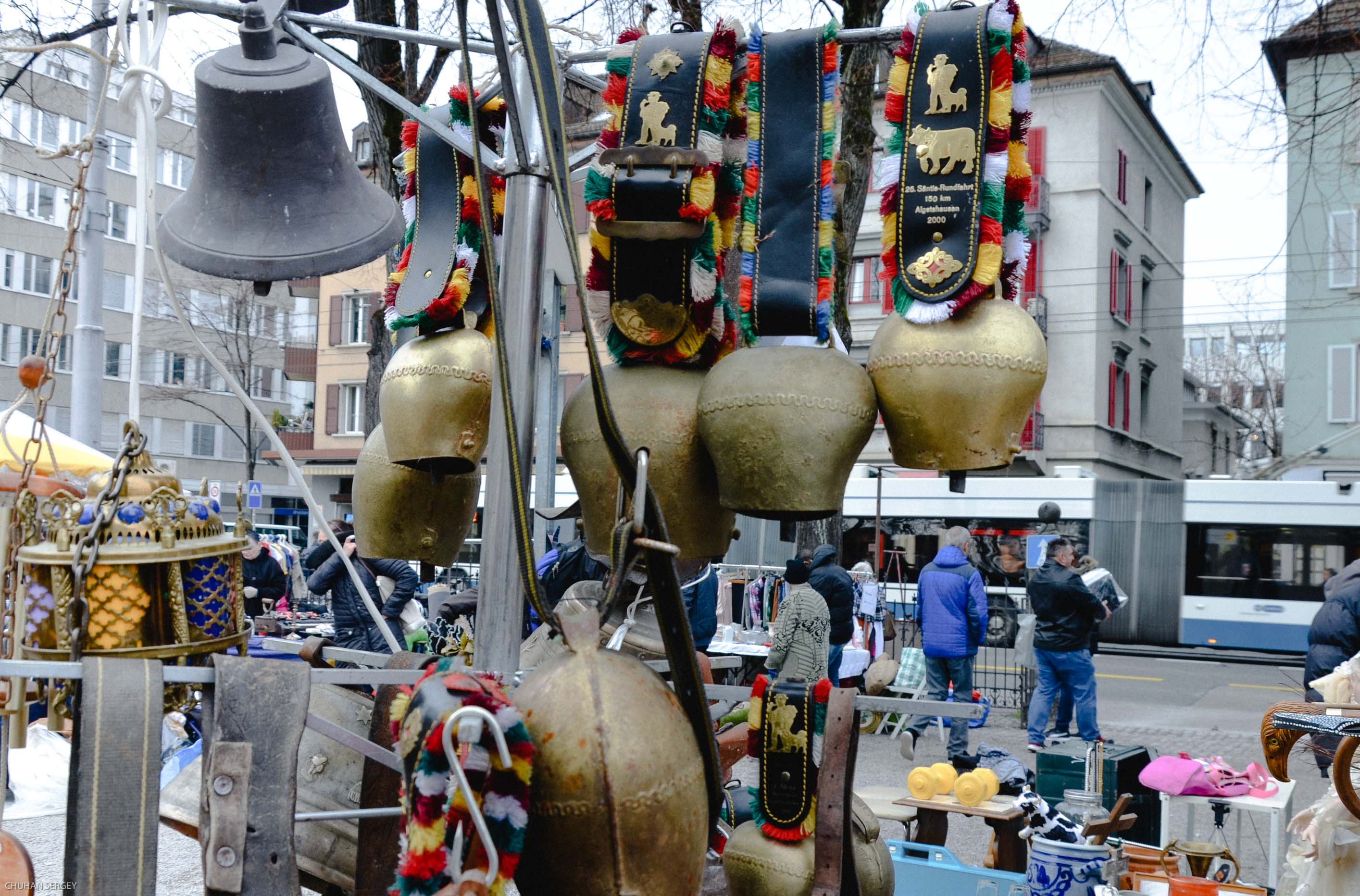Канцлай или блошиный рынок Цюриха