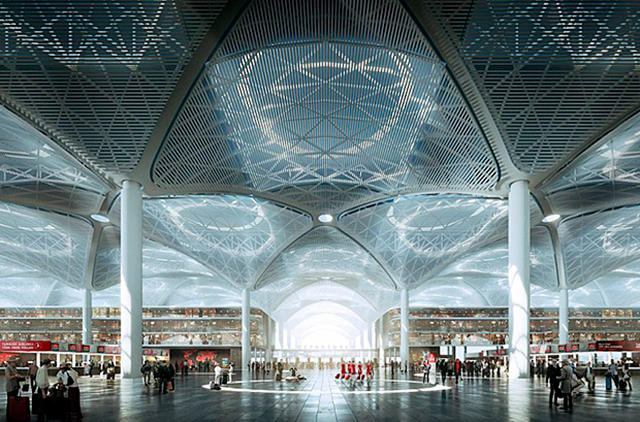Появилась видео-презентация нового аэропорта Стамбула