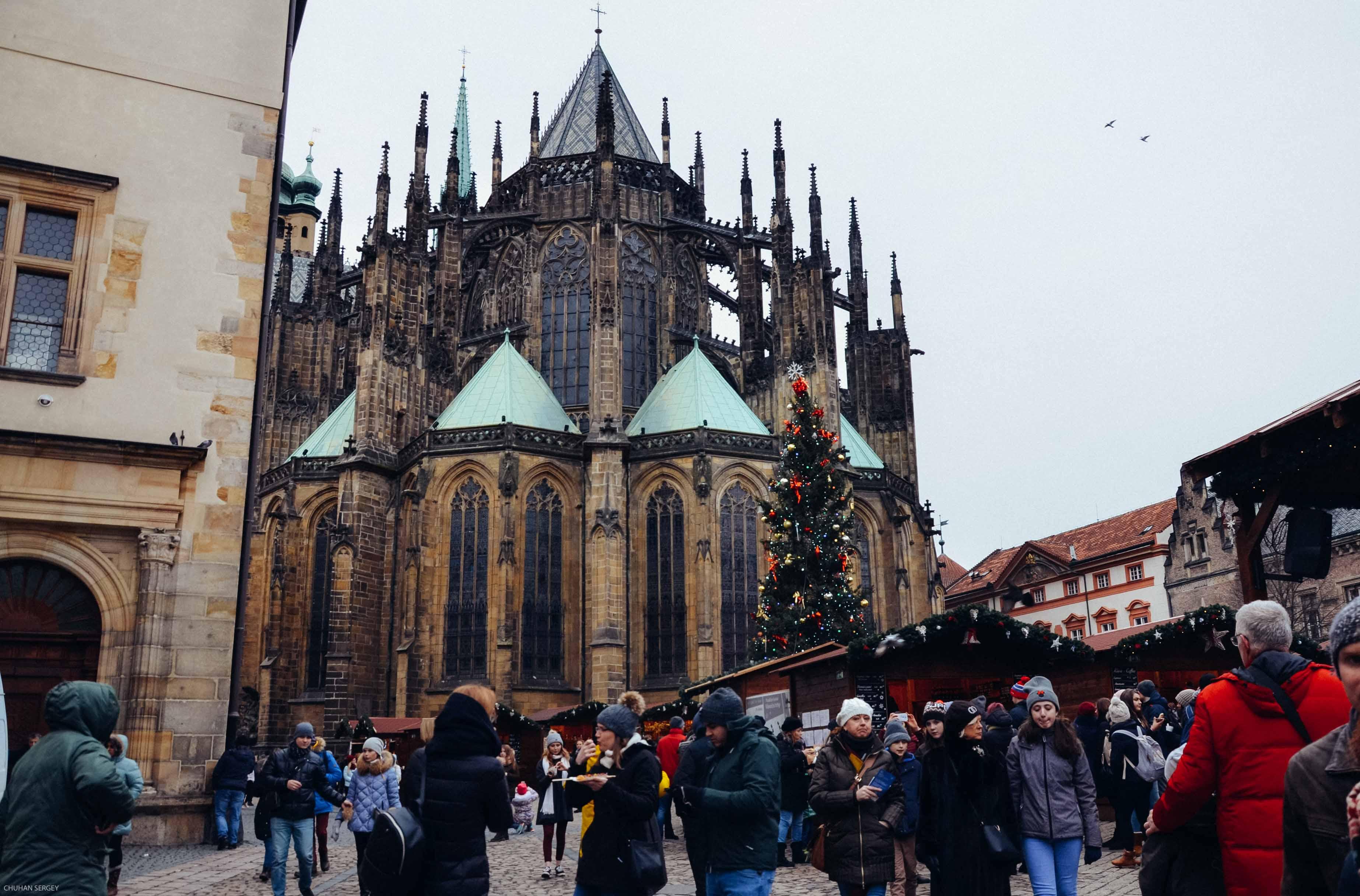 Собор Святого Вита. Пражский град или как посмотреть на Прагу с высоты
