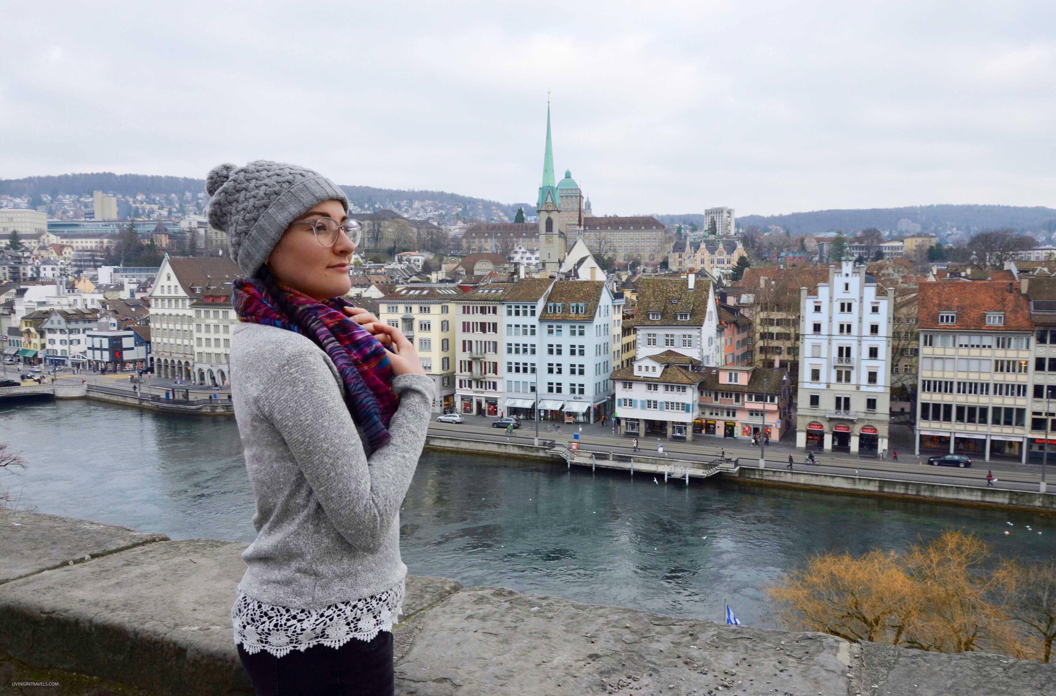 Вид с холма Линденхоф. Швейцария: Цюрих и окрестности за 48 часов