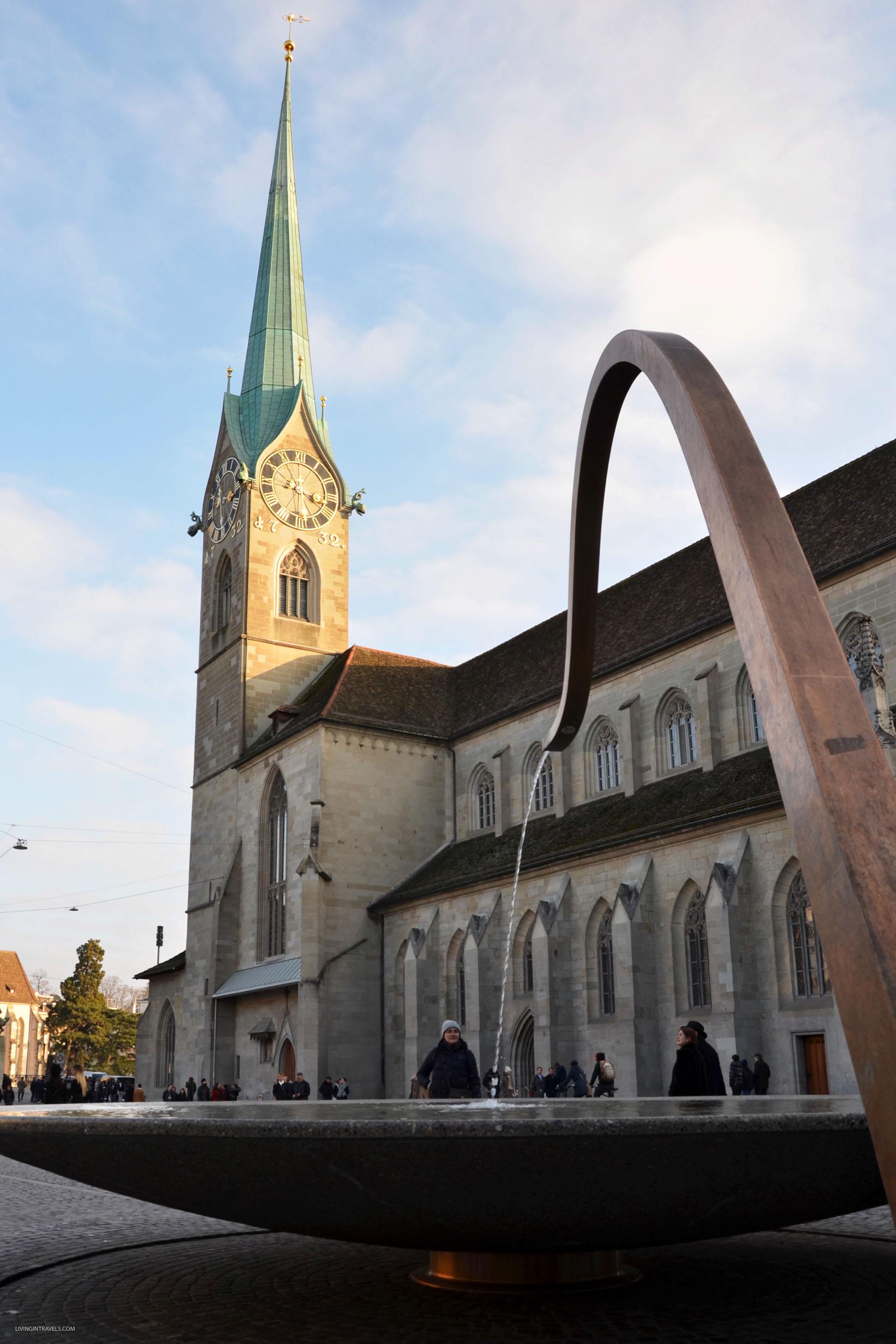 Фонтаны Цюриха. Швейцария: Цюрих и окрестности за 48 часов