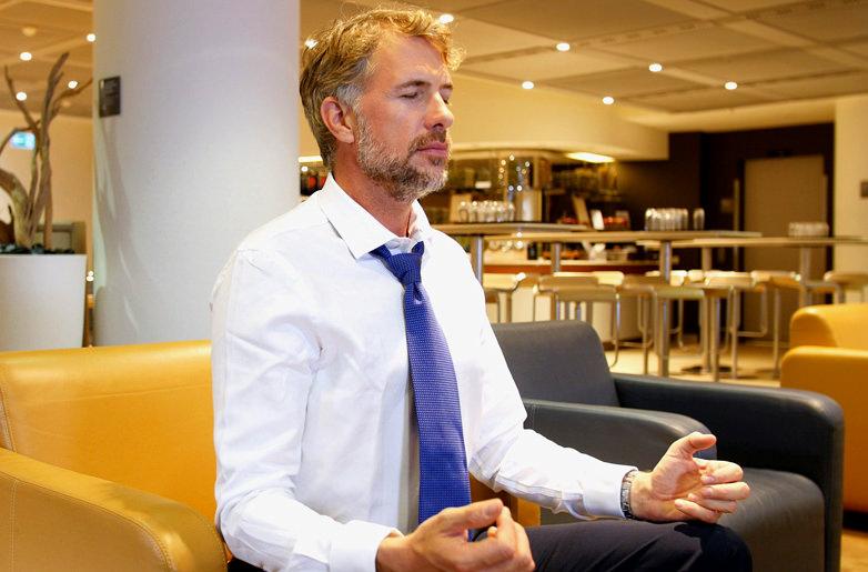 В лаунж-залах Lufthansa теперь можно заняться йогой