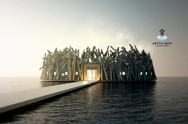 В Швеции откроется плавающий отель в виде птичьего гнезда