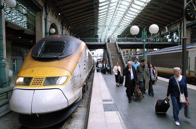 Поезда Eurostar будут ездить из Лондона в Амстердам