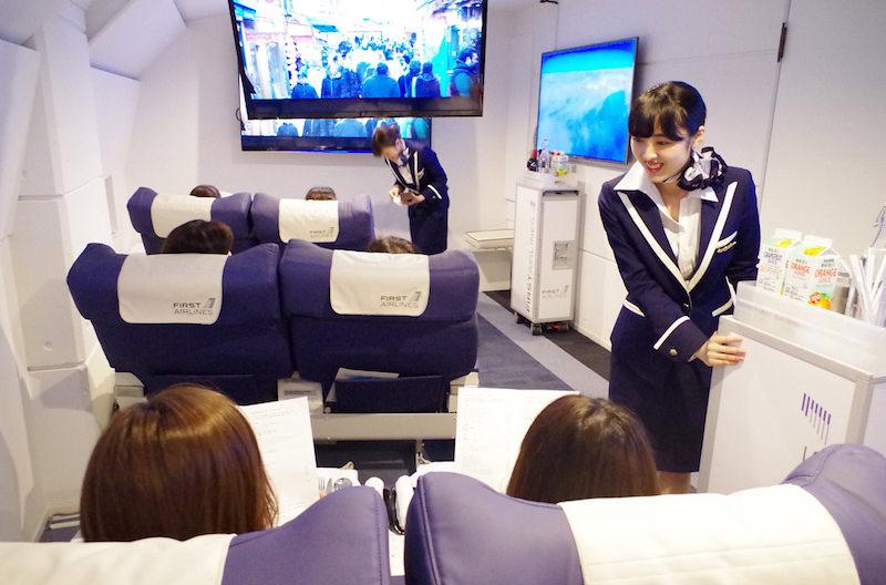 Японский туроператор организовывает полеты на виртуальных авиалиниях