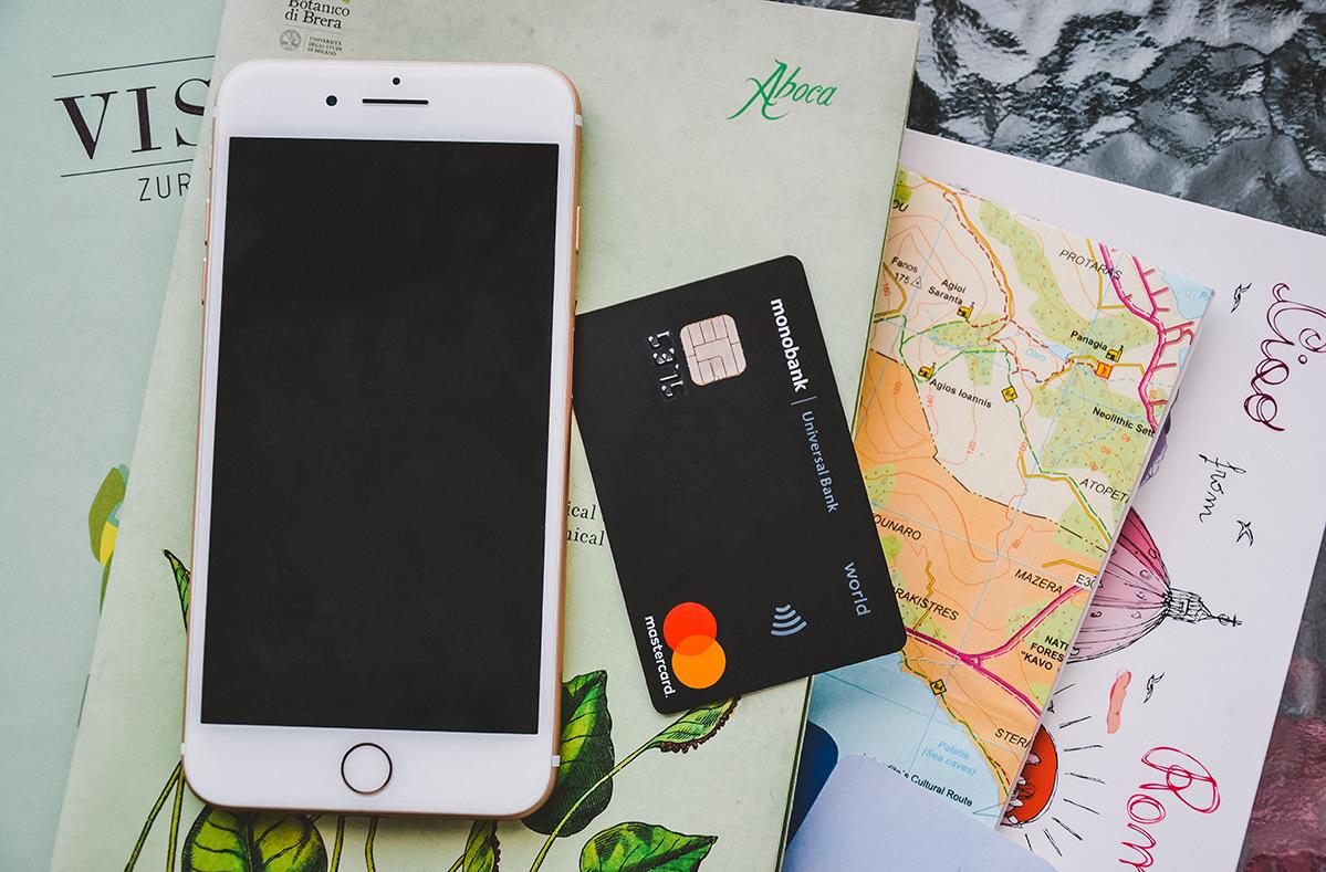 Карта monobank. Какую банковскую карту выбирают украинские путешественники?