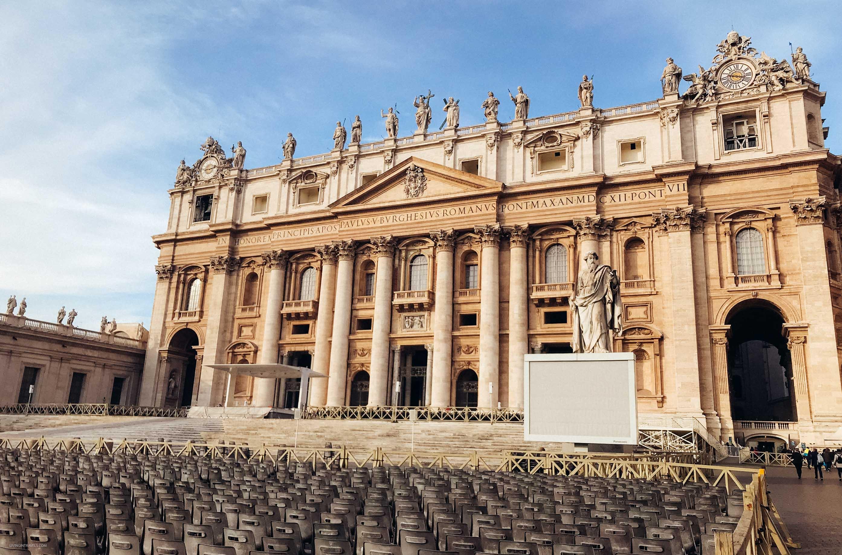 Собор Святого Петра в Ватикане. Рим для новичков или как увидеть город бесплатно (почти)