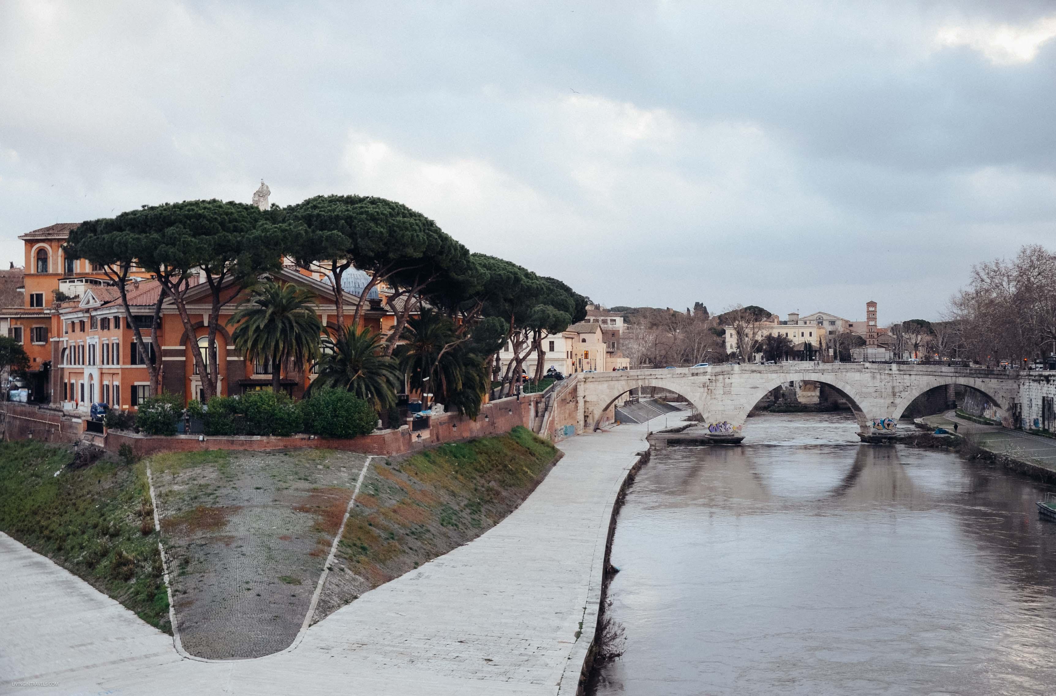 Тибр. Рим для новичков или как увидеть город бесплатно (почти)