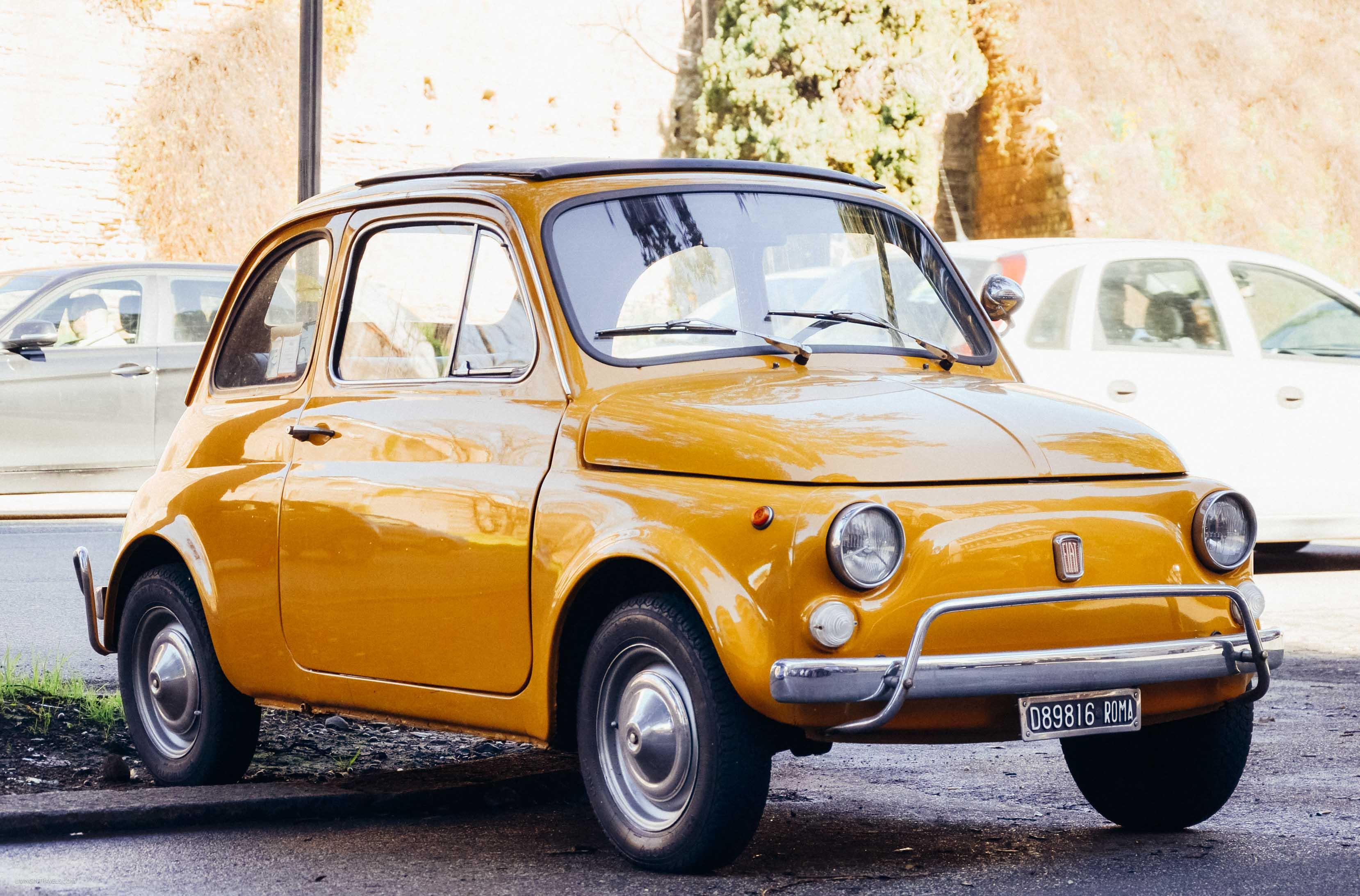Итальянский олдкар. Рим для новичков или как увидеть город бесплатно (почти)