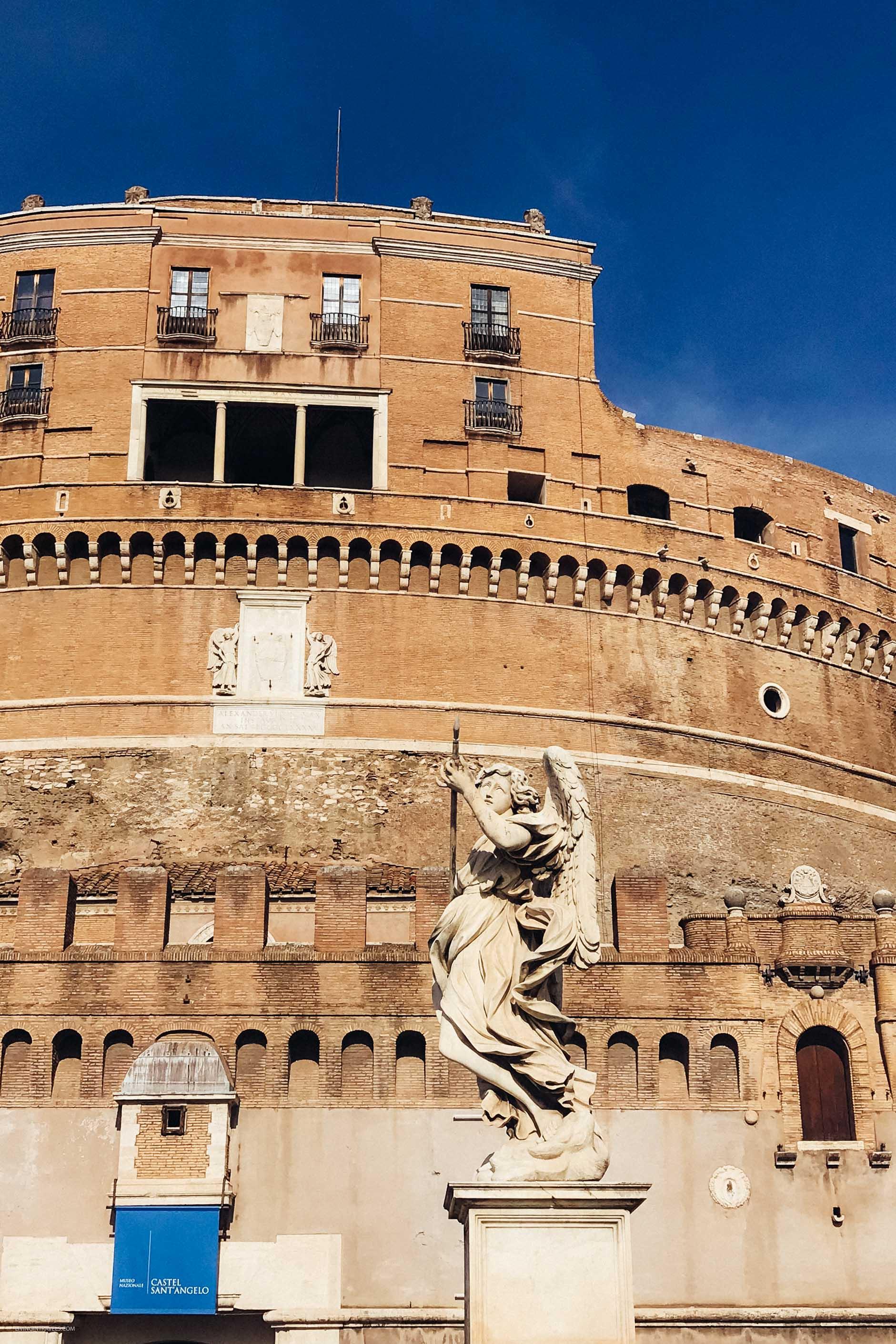 Замок Святого Ангела. Рим для новичков или как увидеть город бесплатно (почти)