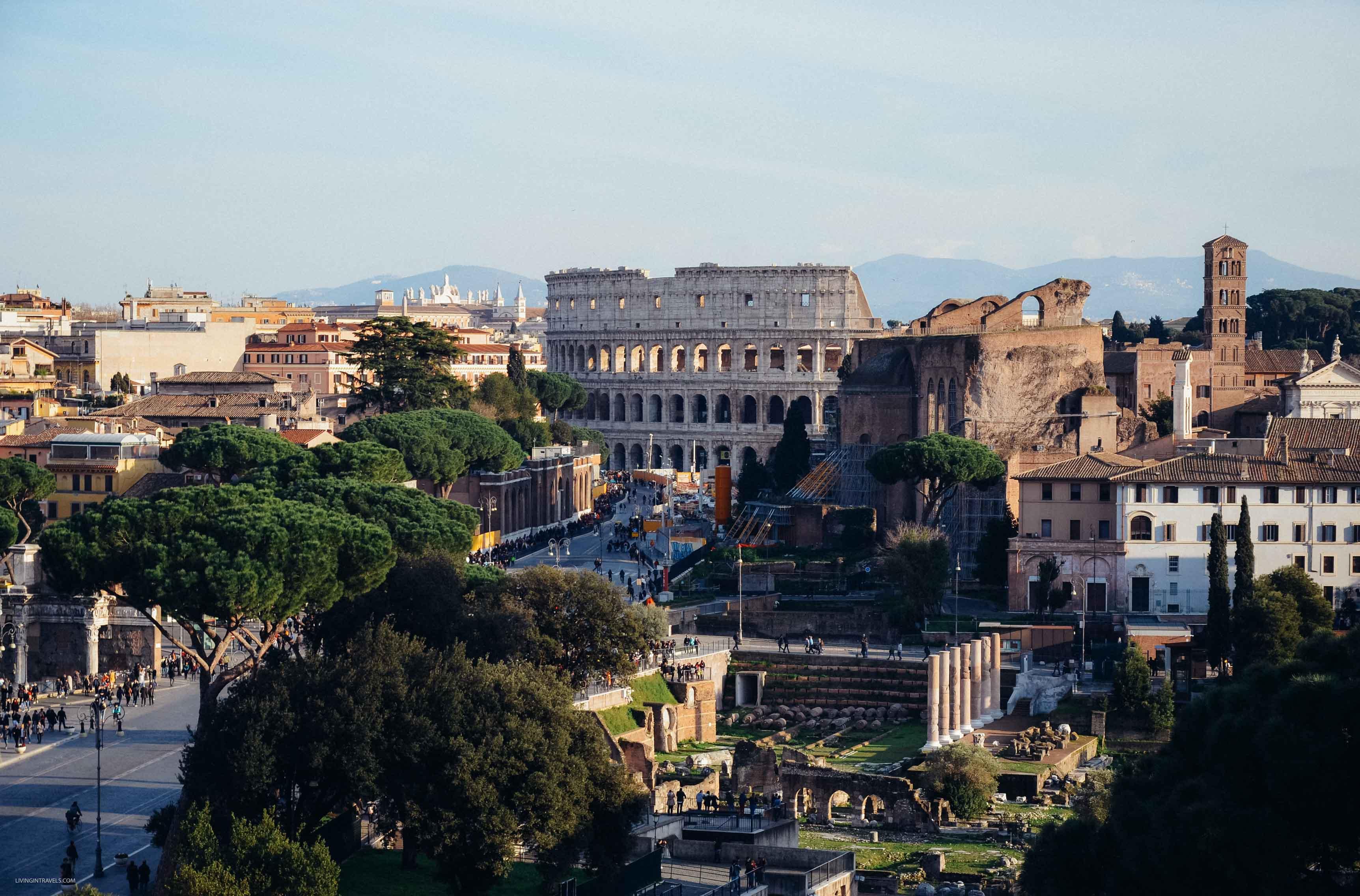Римский Форум и Колизей. Рим для новичков или как увидеть город бесплатно (почти)