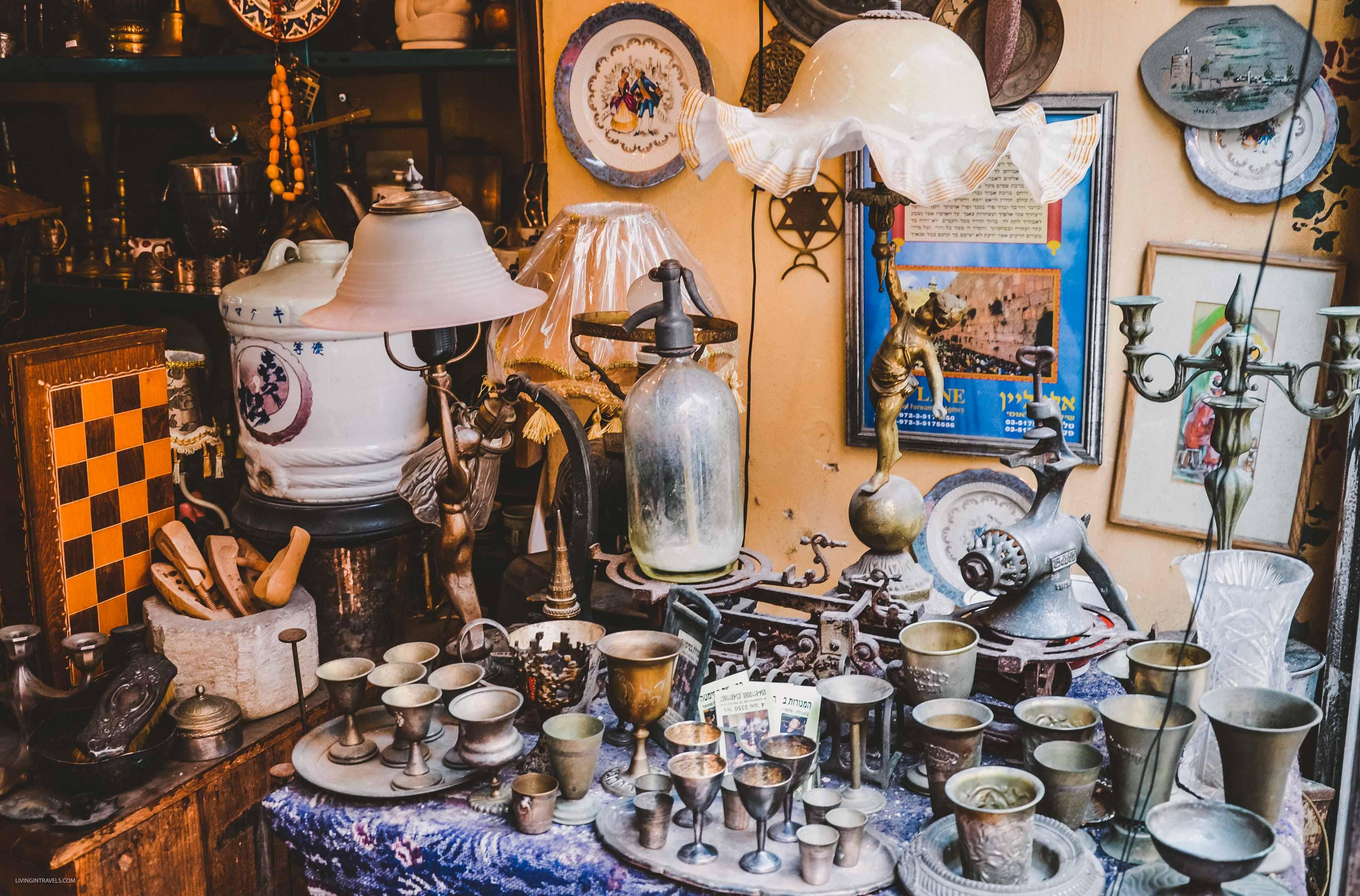 Блошиный рынок в Яффо, Тель-Авив