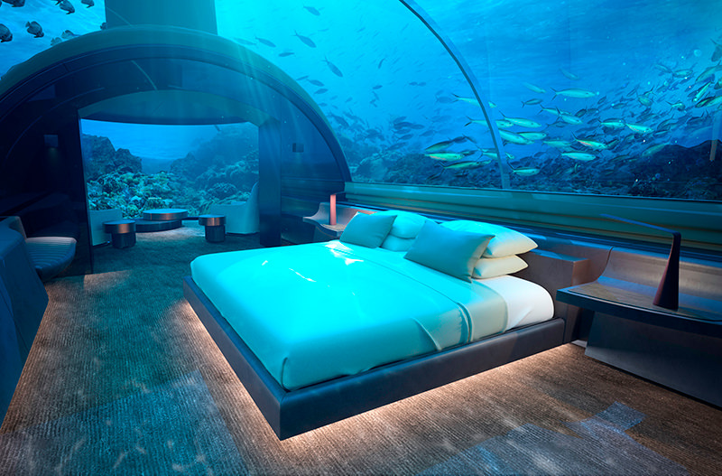 На Мальдивах откроется первый отель под водой