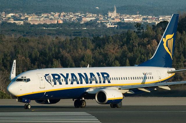 Ryanair закрывает базу в Греции