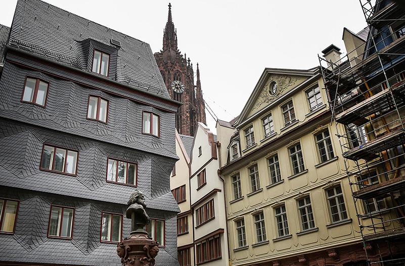 Старый город Франкфурта откроется после реконструкции
