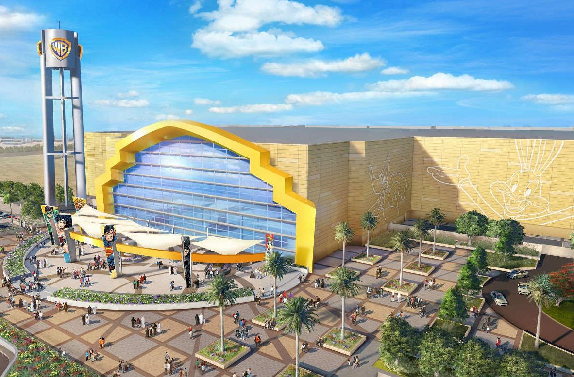 В Абу-Даби откроют самый большой парк аттракционов Warner Bros.