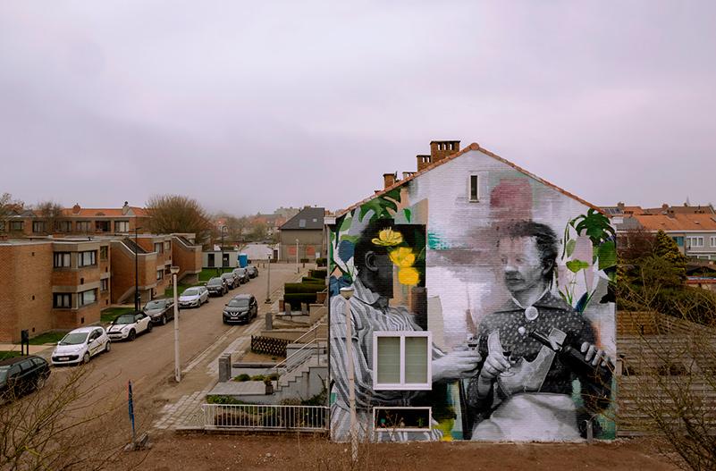 В Бельгии прошел фестиваль стрит-арта