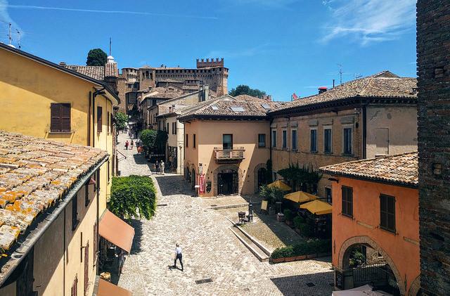 В Италии выбрали самую красивую деревню