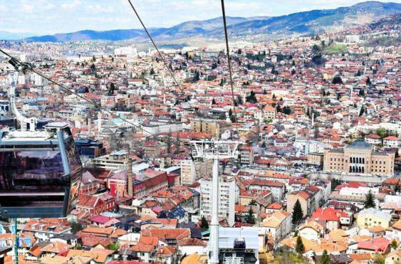 В Сараево снова заработала канатная дорога, спустя 26 лет